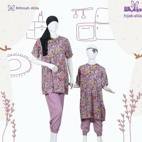 MIHNAH MOTIF HOMEY BABY PURPLE
